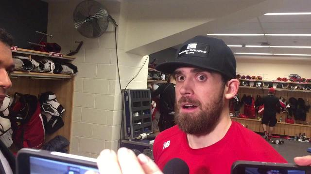 Henrik Zetterberg on the Wings' power-play woes