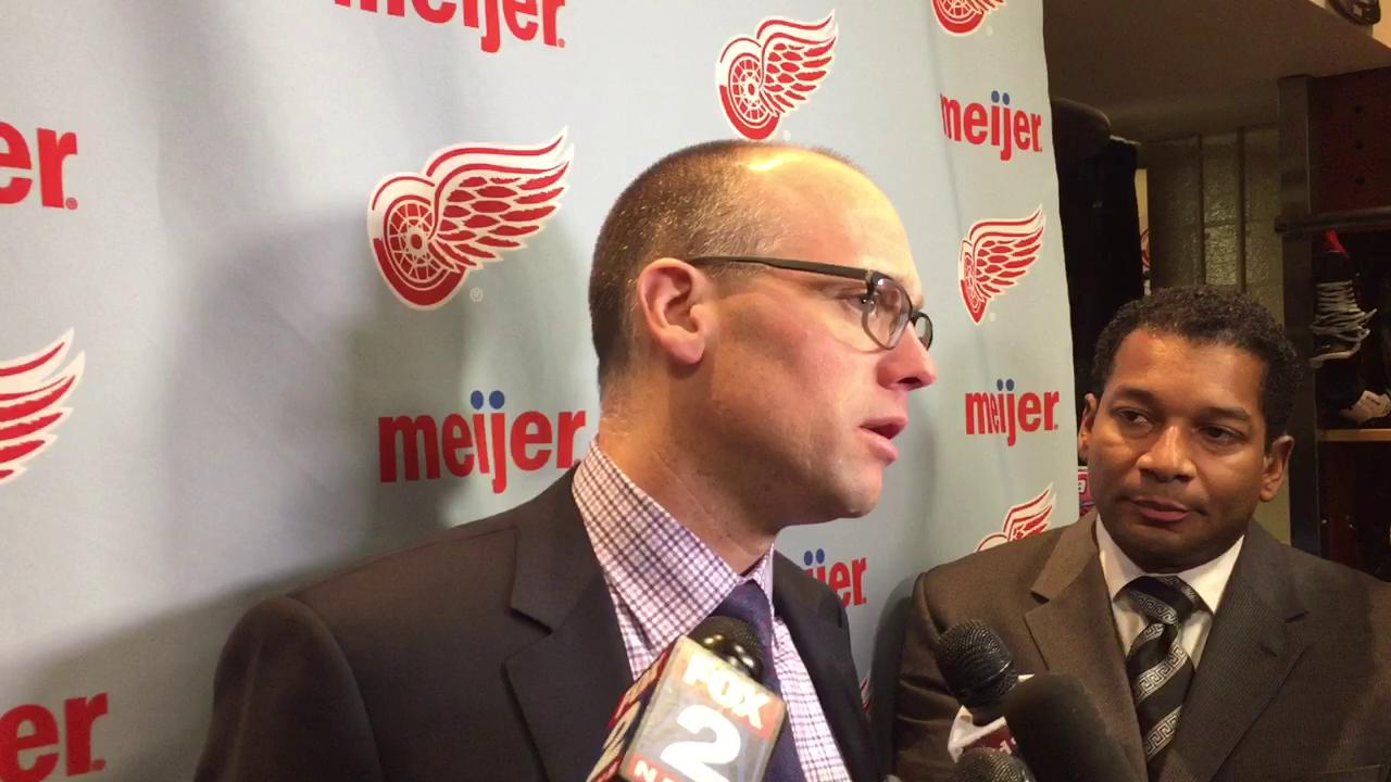 Coach Jeff Blashill on the difference in Monday's victory.