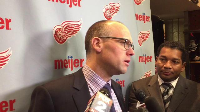 Jeff Blashill on the 1-0 win over Montreal