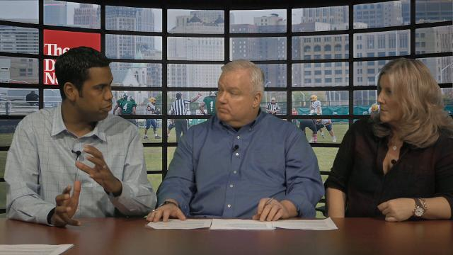 Detroit News columnists Bob Wojnowski and John Niyo, along with Michigan beat reporter Angelique Chengelis and Michigan State beat reporter Matt Charboneau talk high school football recruiting and breakdown the Wolverines' and Spartans' 2017 classes.