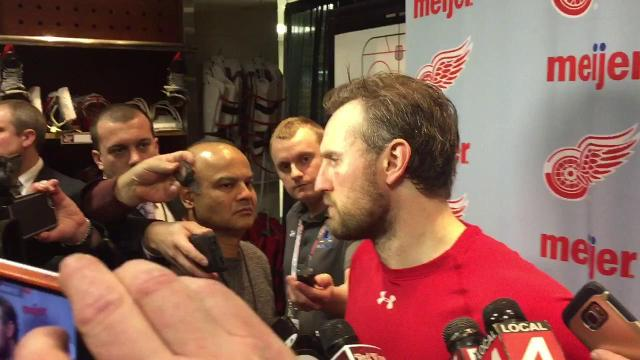 Wings' Niklas Kronwall on OT loss to Rangers