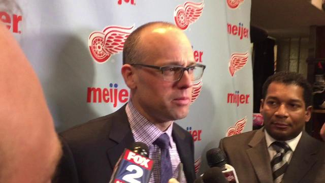 Coach Jeff Blashill: Better each day