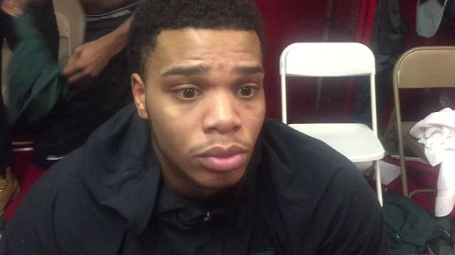 Miles Bridges on MSU's loss at Indiana