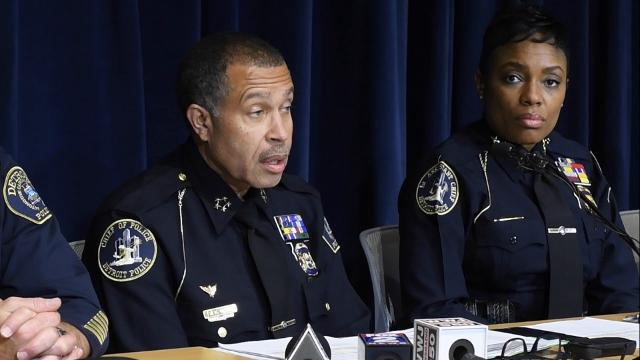 Detroit Police Chief James Craig cites a team effort and police morale as key factors in the drop in 2016 Detroit crime statistics.