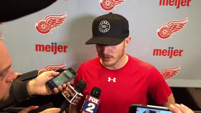 Gustav Nyquist: Wings gave good battle