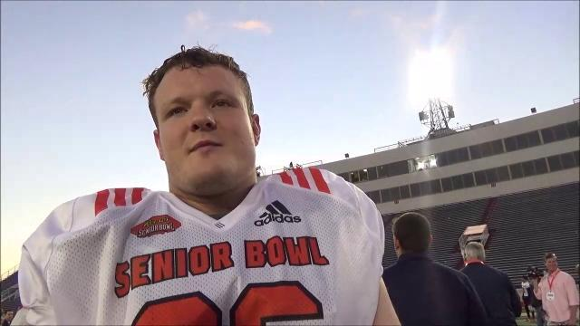 Michigan's Ryan Glasgow at the Senior Bowl