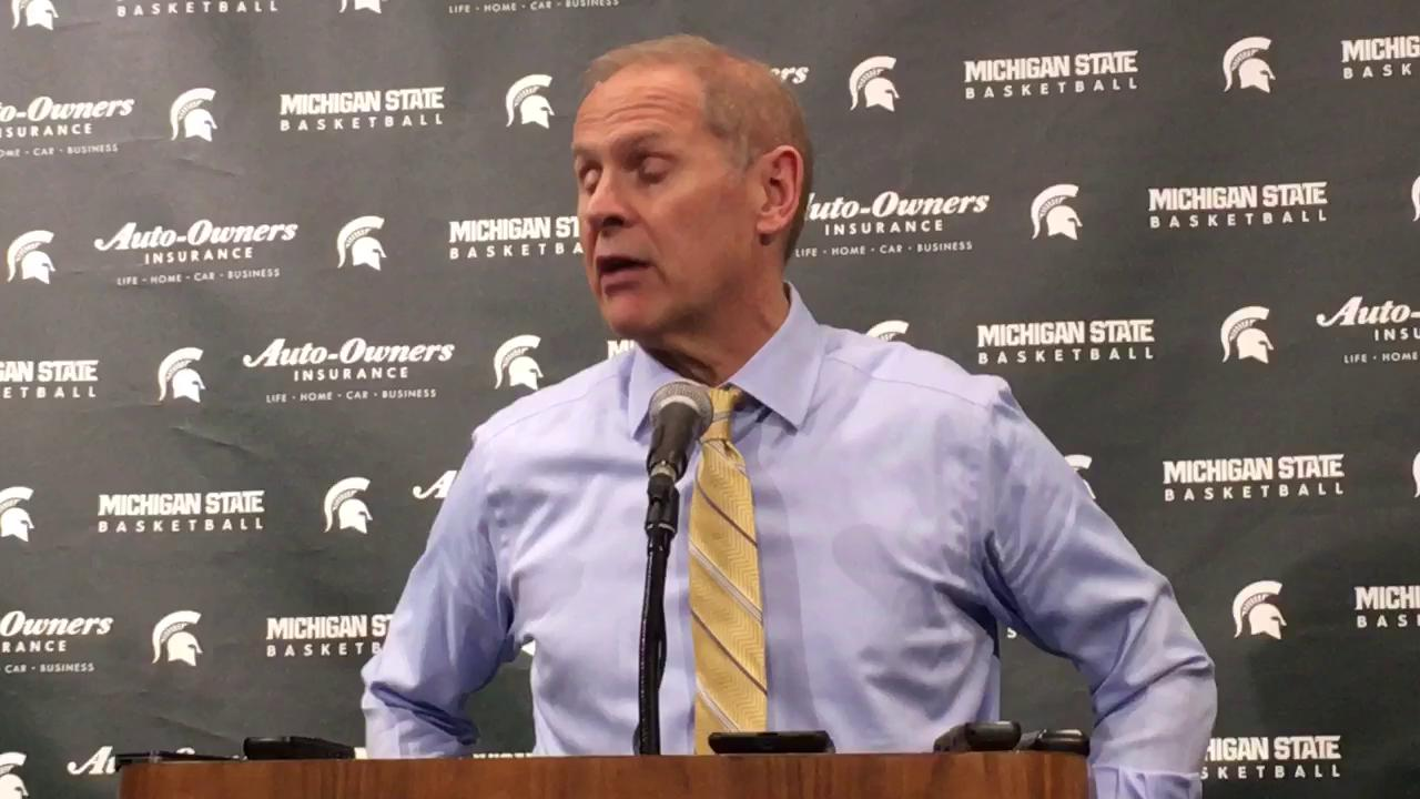 Michigan coach explains the senior forward didn't practice with the flu but that wasn't an excuse for his scoreless effort in Sunday's 70-62 loss.