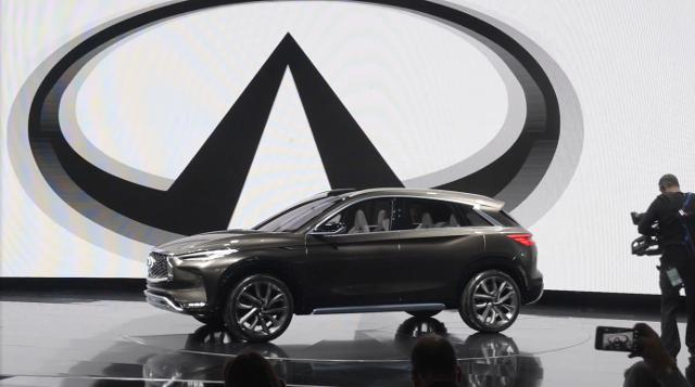 Infiniti introduces QX50 concept