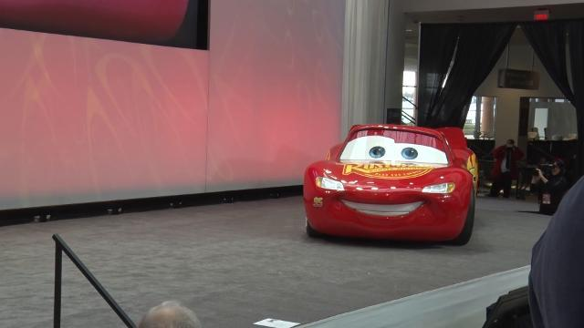 Lighting McQueen comes to life
