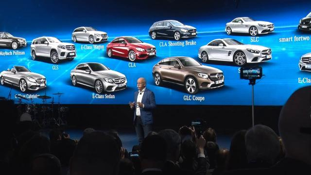 Mercedes-Benz introduces new cars