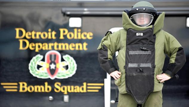 Detroit Police Department Bomb Squad