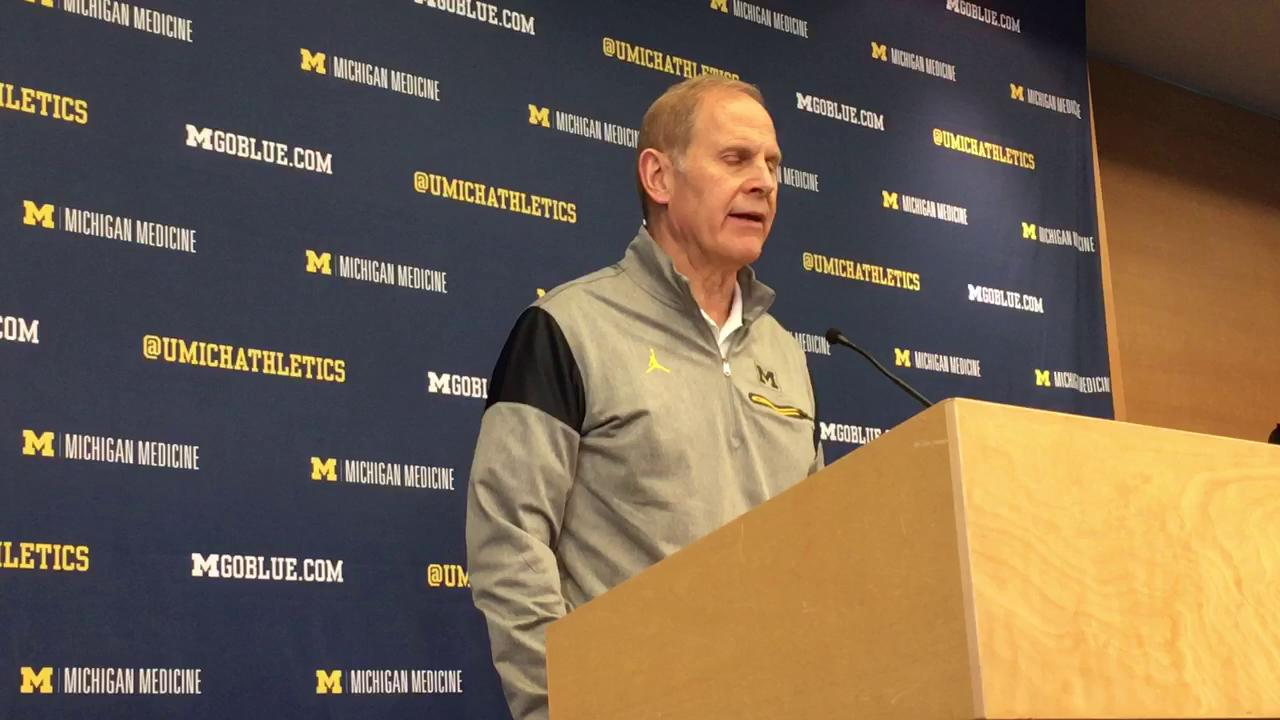 Michigan coach John Beilein talks about team's upcoming matchup against Ohio State.