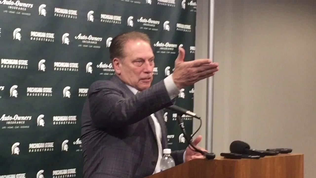 Tom Izzo was upset with tweets from ESPN analyst Dan Dakich and he didn't hold back