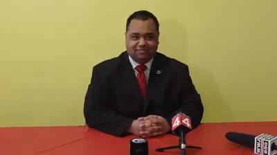 Coleman Young II announces his candidacy