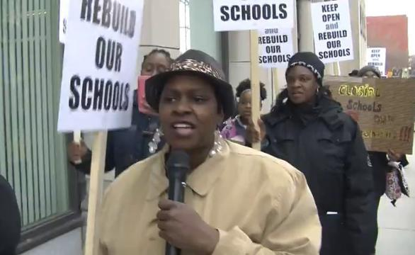 Detroit Federation of Teachers rally against possible school closures