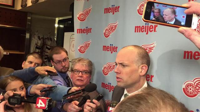 Jeff Blashill on goaltending and special teams' role in win