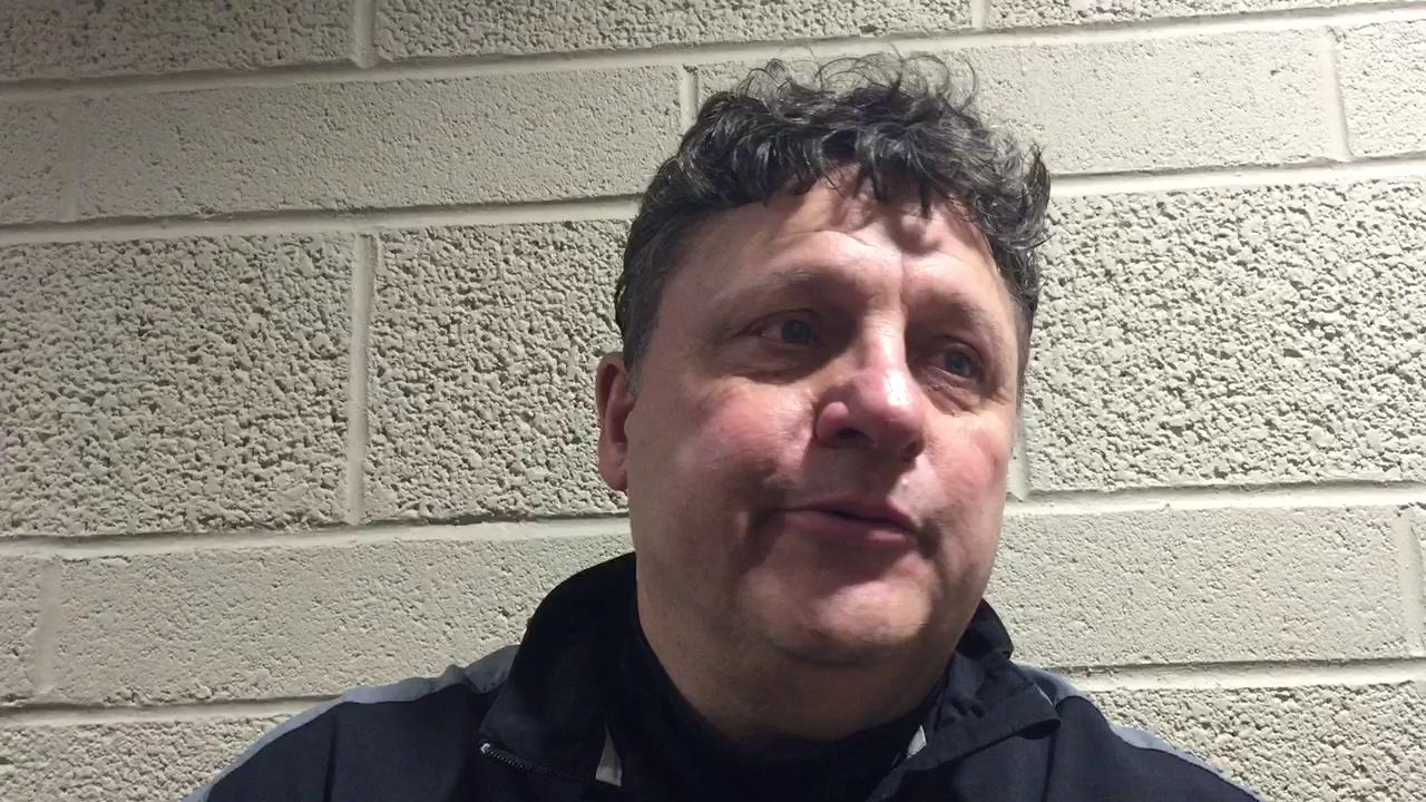 Long-time Oakland basketball coach and Detroit sports fan Greg Kampe remembered Mike Ilitch following his team's game against Detroit Mercy at Calihan Hall on Friday night.