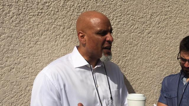 Former Tiger Tony Clark, now the head of the MLB Players Association, gave the Tigers a state of the union address Monday morning.