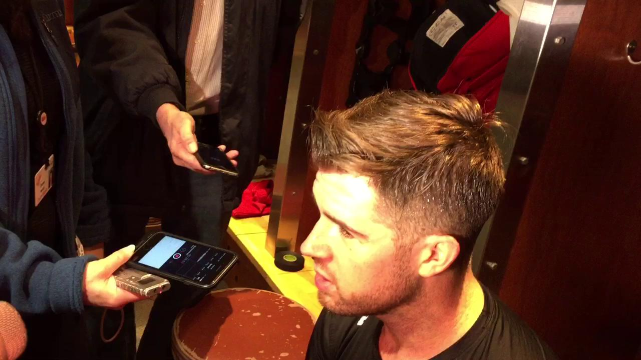 Mike Green on the Red Wings' winning weekend.