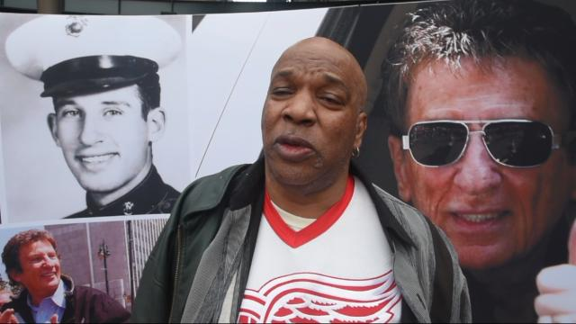 Cabbing for 40 years, driver Harold Davis speaks on the passing of Mike Ilitch.