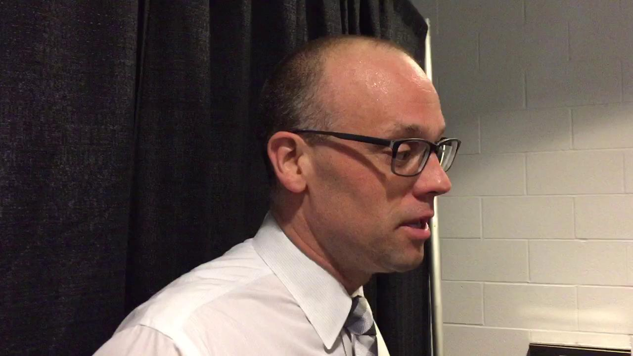 Coach Jeff Blashill on the impact of Mike Ilitch on Detroit.