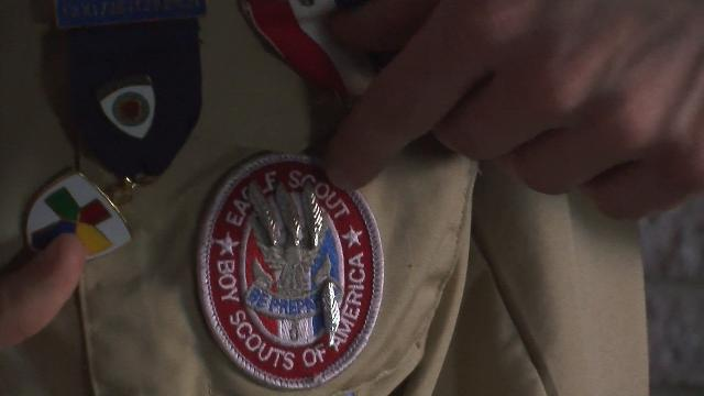 Ian McKinnon, 16, of Shelby Township,  earned all of the 137 merit badges that the Boy Scouts offer.