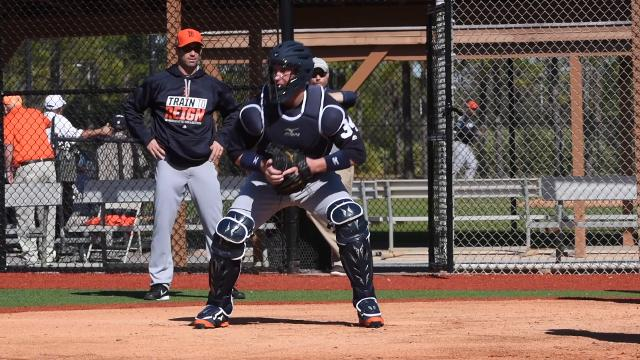 Sights and sounds at Tigers spring training from the past couple of days.