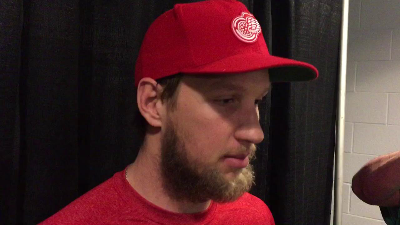 Justin Abdelkader on a personal memory of Mike Ilitch.