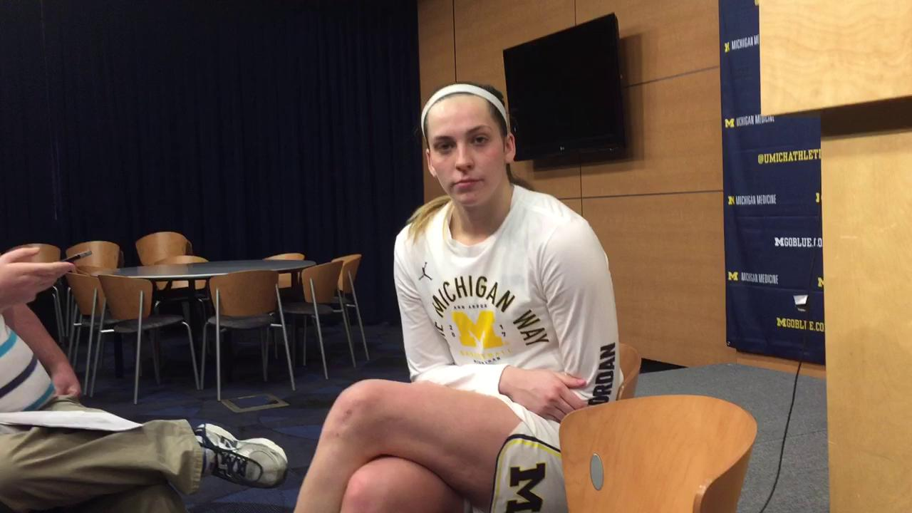 UM's Thome on WNIT semifinal win