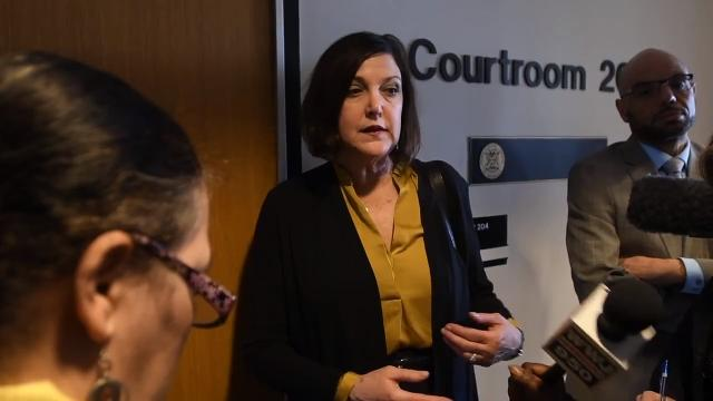 Attorney Gabi Silver says her client, Raymond Durham, is confused and unable to communicate with her. He is accused of killing  two Detroit police officers and was ordered to undergo a mental exam by Judge Kenneth King.