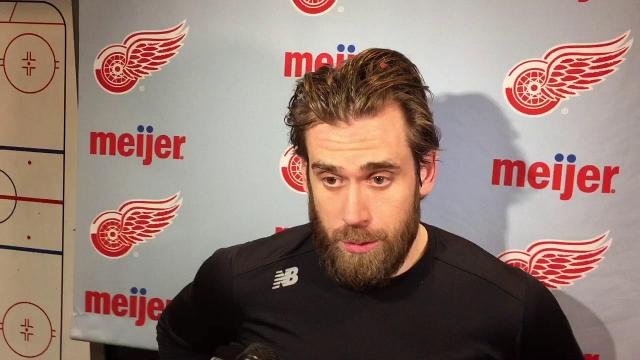 Red Wings' Henrik Zetterberg on new approach