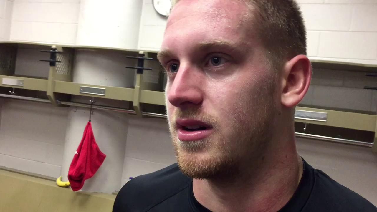 Anthony Mantha scores the overtime game-winner in Montreal.