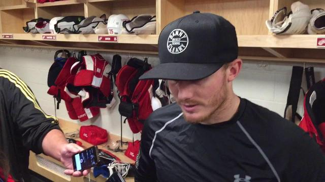 Wings' Gustav Nyquist, the playmaker