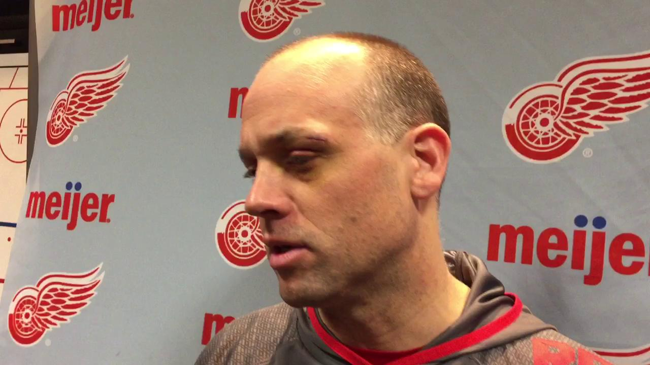 Coach Jeff Blashill was pleased with Friday's win over Chicago.