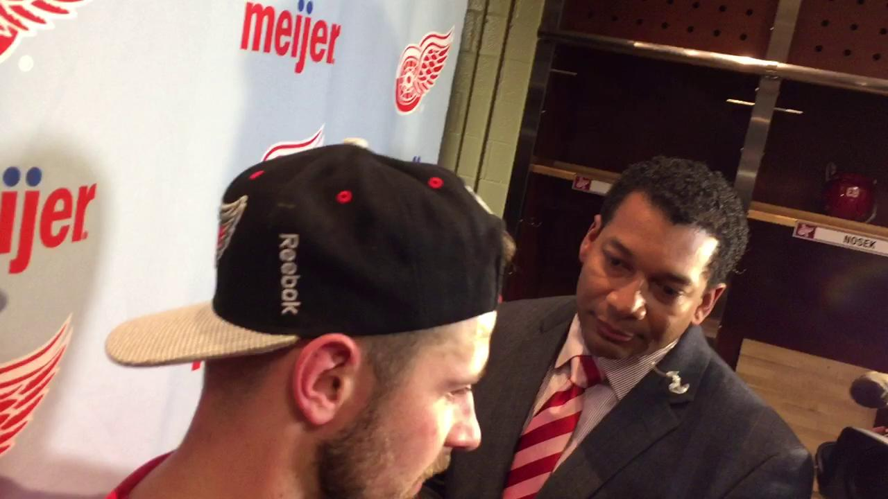 Tomas Tatar says Buffalo's success on special teams gave the Sabres the victory.