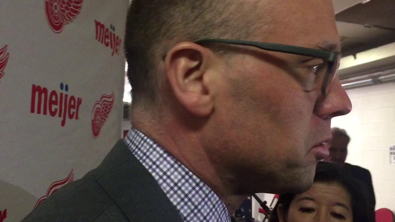 Coach Jeff Blashill feels special teams have fueled the team's recent hot stretch.