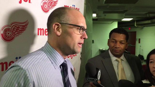 Jeff Blashill thankful for Eddie Lack's recovery