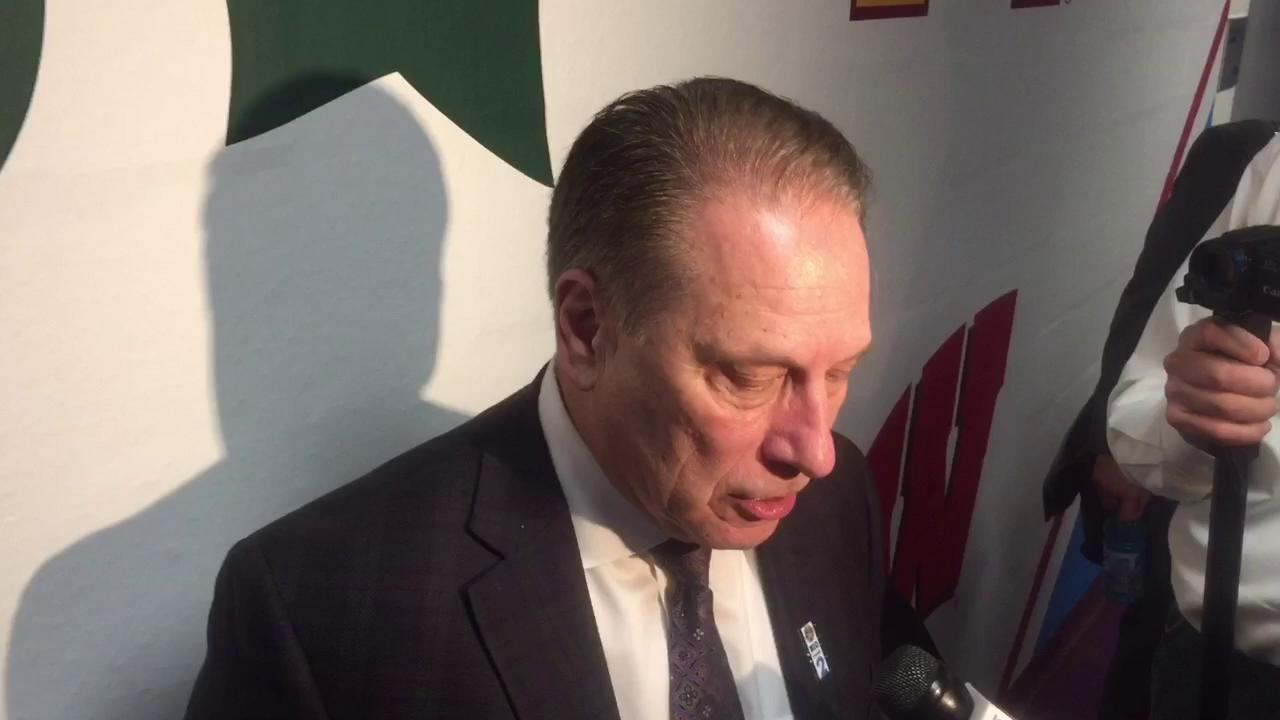 Tom Izzo talks about MSU's win over Penn State, upcoming game with Minnesota