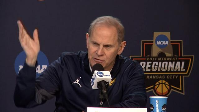 Michigan coach John Beilein talks about his friendship with Oregon coach Dana Altman, lessons from the plane incident,  and his national reputation.