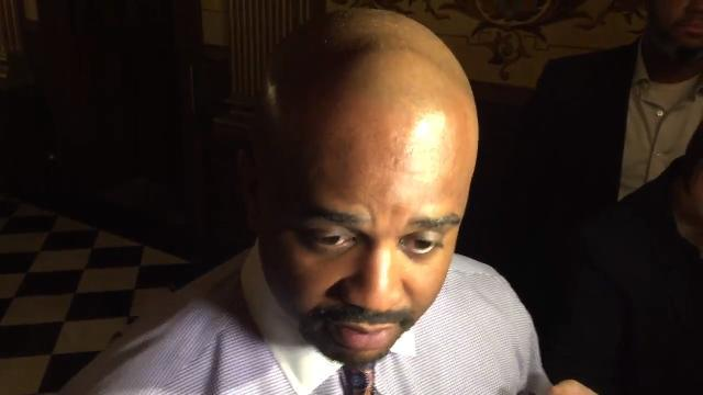 State Sen. Bert Johnson talks about FBI raid of home and office