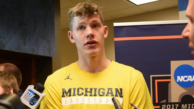 Michigan's Moritz Wagner on playing with emotion.