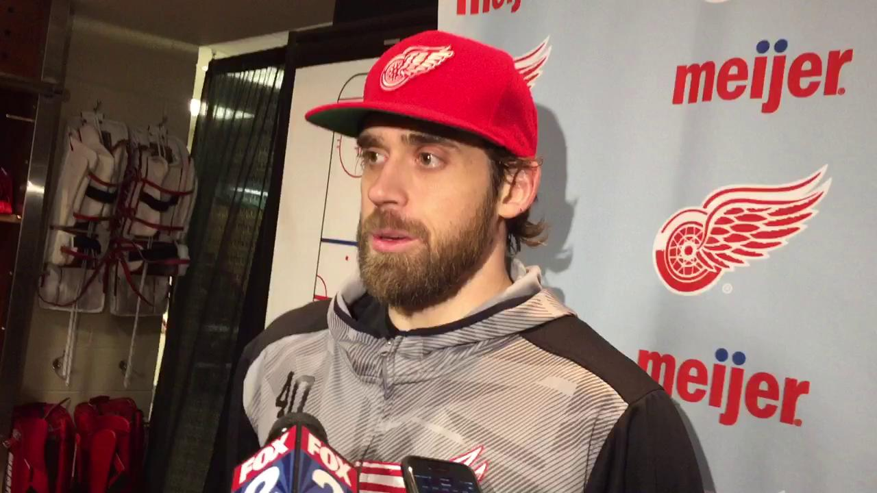 Red Wings captain Henrik Zetterberg is preparing to play his 1,000th career game Sunday.