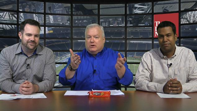 Bon Wojnowski, John Niyo, and Justin Rogers break down the Lions' needs and possible choices in the upcoming NFL draft.