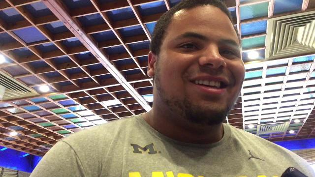 UM's Grant Newsome on his chances of meeting the Pope