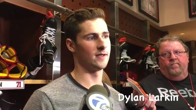 While cleaning out their lockers for the last time at Joe Louis Arena, some Wings players spoke about missing the playoffs and how to improve next season.