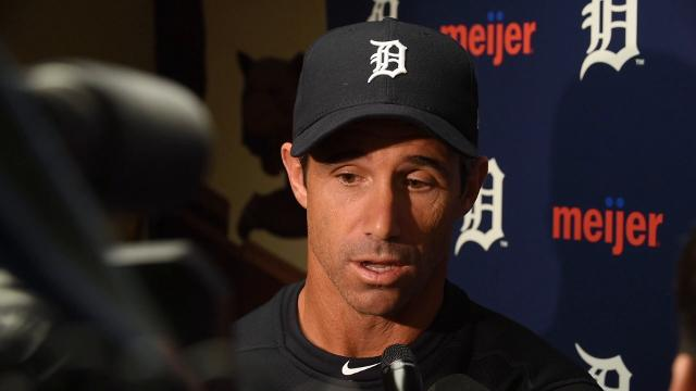 Tigers' Brad Ausmus, after Thursday's loss to the Twins, on Anibal Sanchez and Joe Jimenez.