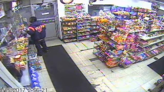 Surveillance video of homicide suspect
