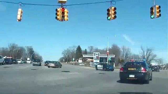 Oakland County Sheriff chasing stolen SUV in Pontiac that leads to arrest of 16-year-old.