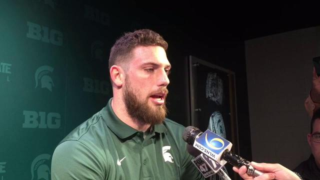 MSU's Chris Frey on dealing with off-field issues