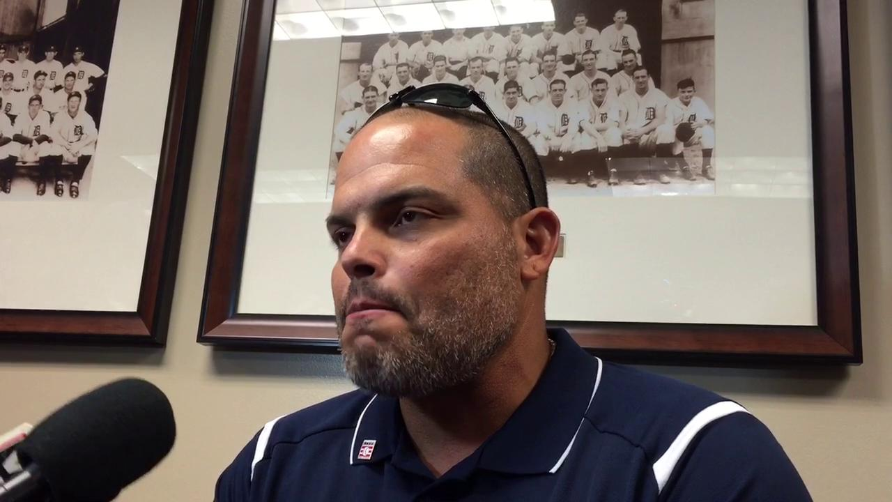 Former Tiger Pudge Rodriguez met with the media recently to discuss his time in Detroit and his upcoming induction into the Hall of Fame.